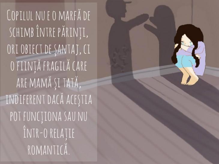 Conflictul între părinți - traumă pentru copil